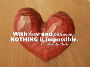 Practice of Love and Patience